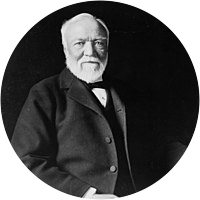 Picture of Andrew Carnegie