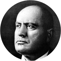 Picture of Benito Mussolini