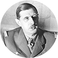 Picture of General Charles DeGaulle