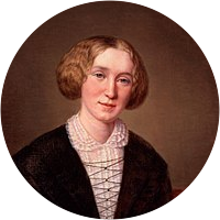 Picture of George Eliot