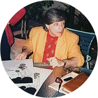 Picture of Harlan Ellison