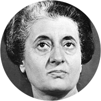 Picture of Indira Gandhi
