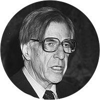 Picture of John Kenneth Galbraith