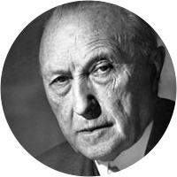 Picture of Konrad Adenauer