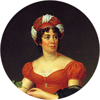 Picture of Madame de Stael