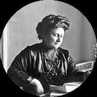 Picture of Maria Montessori