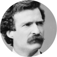 Picture of Mark Twain
