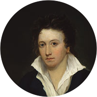 Picture of P. B. Shelley