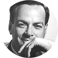 Picture of Richard Feynman