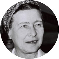 Picture of Simone de Beauvoir