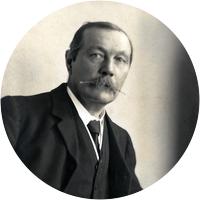 Picture of Sir Arthur Conan Doyle